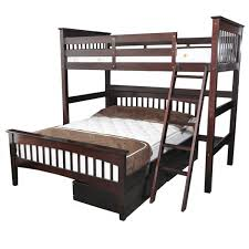 Twin Loft Bed Espresso Humboldt Full Loft Beds For Kids - Twin loft bunk bed