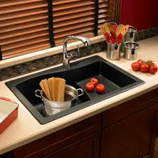 Swanstone QZAD Large DropIn Ascend Single Bowl Kitchen - Drop in single bowl kitchen sinks