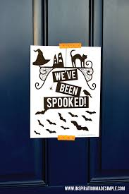 you u0027ve been spooked halloween printables inspiration made simple