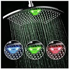 What Temperature Do I Wash Colors - dreamspa all chrome water temperature controlled color changing 5