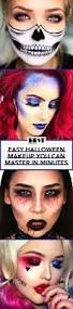 easy halloween makeup ideas for 2017 scary and halloween