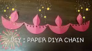 diy how to make paper diya diwali craft craft for kids youtube
