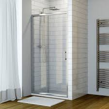 Shower Sliding Door 6mm 1100mm Sliding Door Shower Enclosure