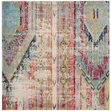 Safavieh Rug by Shop Safavieh Monaco Kolby Multi Square Indoor Machine Made