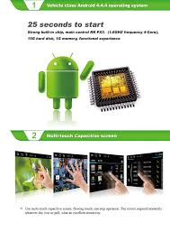 amazon com witson quad core 16gb android 4 4 4 in dash dvd for