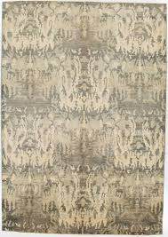 6 X 8 Area Rug Oriental Ikat Rug Without Borders Grey And Tan 6x8 5 Area Rugs