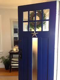 Front Door Painted by Marcie Reid Designs Coastal Front Door Paint Color Is Old Navy