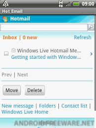 hotmail app for android email hotmail free android app android freeware