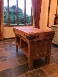 stunning original antique butcher u0027s block home furniture u0026 diy