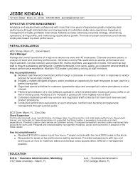 sample resume for retail position sales associate resume sample