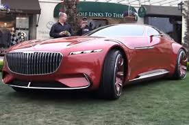 maybach 6 interior watch the mercedes maybach vision 6 move via remote control