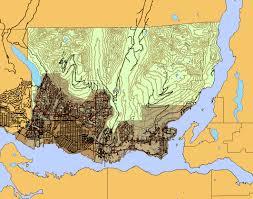 Hamilton Canada Map Kml Mcmaster University Library Hamilton Ontario Canada