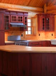rustic red kitchen cabinets barebones ely 2017 and pictures artenzo