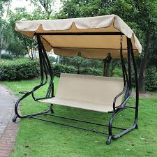 joveco canopy awning outdoor porch swings bench chair joveco com