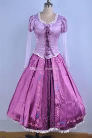 rapunzel cosplay costume princess tangled sofia dress