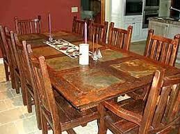 Western Dining Room Rustic Furniture Barnwood Furniture By Stephen Burlison