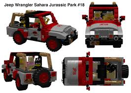 jurassic world jeep lego lego ideas jurassic park jeep