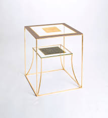 Glass Side Table by Codor Design Tables