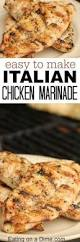 3 ingredient marinated chicken only 3 ingredients including the