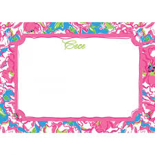 lilly pulitzer correspondence cards lucky charms