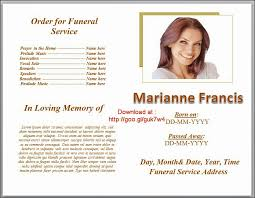 downloadable funeral program templates funeral program templates on downloadable editable in