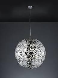 ladari moderni da soffitto ladario sospensione sferico metallo cromo lada da soffitto