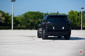 lexus vossen wheels lexus lx 570 gets murdered out look and vossen wheels autoevolution