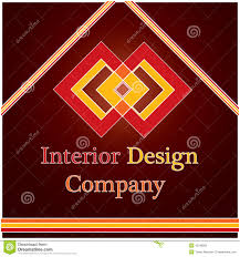 interior design logo interior design company logo royalty free stock photo image