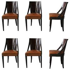 dining room h214 art deco dining chair by jindrich halabala for
