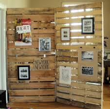Cool Room Divider - cool reclaimed wood room divider room divider from pallet wood