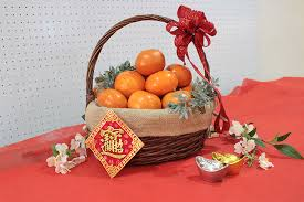 new years basket new year gift basket
