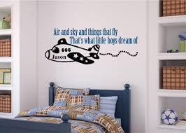 air and sky things that fly includes name boy room decor vinyl air and sky things that fly includes name boy room decor vinyl decal wall stickers letters