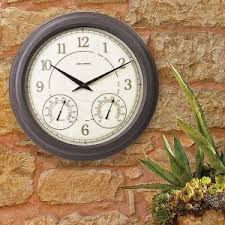 Patio Clocks Outdoor Thermometer Outdoor Clocks Outdoor Garden Clocks Atomic Clocks Acurite