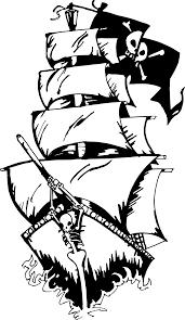 clipart pirate ship 2 clipartix