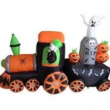Inflatable Halloween Decorations Inflatable Maxi Skeleton 183cm Halloween Theme Inflatable Blow Up