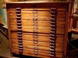 Wood Flat File Cabinet Beautiful Flat File Cabinet At The Paris Market Www Thepa U2026 Flickr