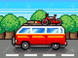 pixel car pixel car clipart