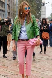 proof that pink and green is the best color combination ever