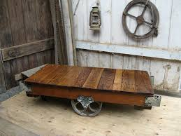 cool cart coffee table to liven up your room