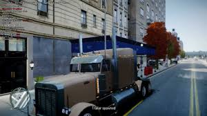 aston martin truck gta iv trailer mod truck carrying cars 2 ferrari f 430 and 1 aston