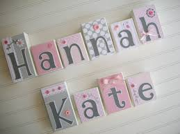 wooden nursery name letters baby nursery name letters options