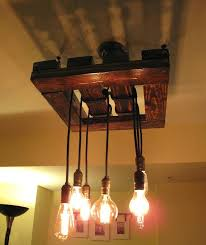 Wooden Light Fixtures Chandeliers Made Of Wood Antique Wagon Wheel Chandelier Trail