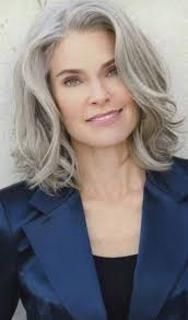 long gray hairstyles for women over 50 50 short and stylish hairstyles for women over 50 wavy bangs