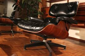 Lounge Chair Ottoman by Olive Green Eames Lounge Chair