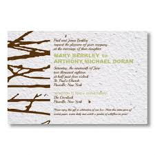 paper invitations seed paper plantable wedding invitations bloomin