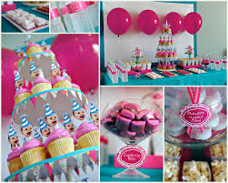 girl party themes 1st birthday decoration ideas for girl party theme decor photo