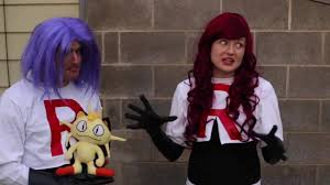 how to make team rocket costumes jessie and james cosplay no sew