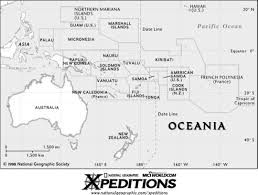 Blank Map Of Australia by Print On Transparency Outline Map Of Australia And Oceania Wild