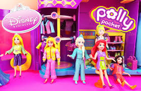 polly pocket dolls clothes dress fashion challenge game