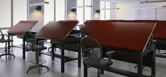 Large Drafting Tables Classroom Versatables